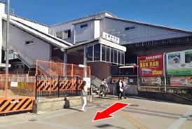 駅からの道順03