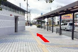 駅からの道順02