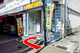 駅からの道順08